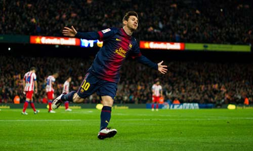 "Atletico – Barca: ""Hung thần"" Messi - 1"