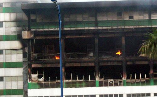 Chùm ảnh vụ cháy tại KCN Pou Yuen - 1