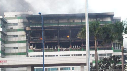 Chùm ảnh vụ cháy tại KCN Pou Yuen - 2