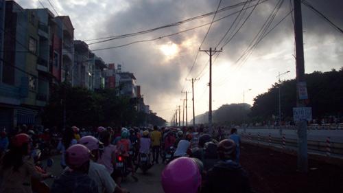 Chùm ảnh vụ cháy tại KCN Pou Yuen - 3
