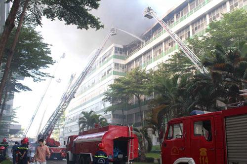 Chùm ảnh vụ cháy tại KCN Pou Yuen - 6