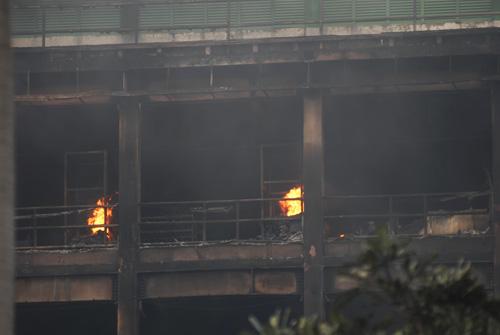 Cháy tại KCN Pou Yuen: Báo cháy chậm - 5