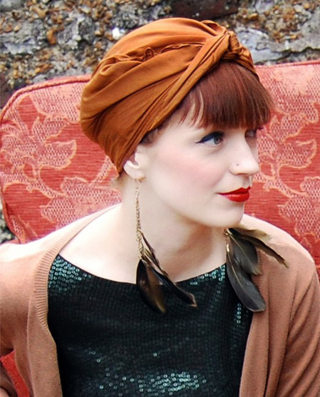 2 cách thắt khăn turban dễ mà sành điệu! - 15