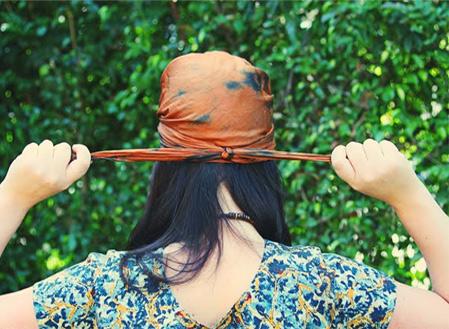 2 cách thắt khăn turban dễ mà sành điệu! - 7