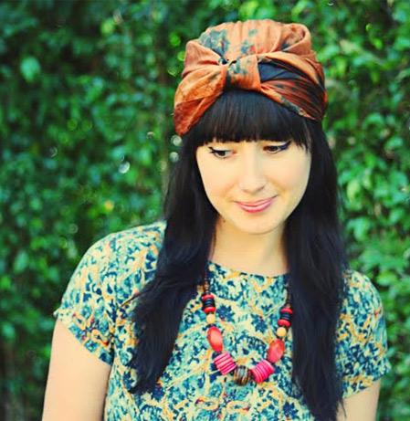 2 cách thắt khăn turban dễ mà sành điệu! - 8