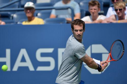 Murray khổ luyện chờ US Open 2013 - 3