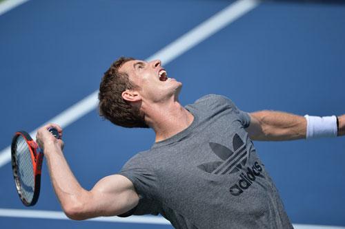 Murray khổ luyện chờ US Open 2013 - 1