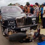 Tin tức trong ngày - Rolls Royce gây TNGT: Đại gia gỗ trình diện