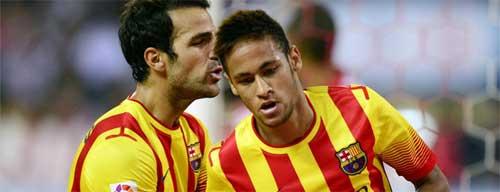 Atletico – Barca: Neymar che mờ Messi - 1