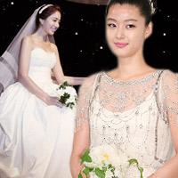 Sao Hàn mặc váy cưới xấu nhất
