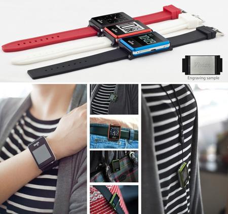 NANO Smart - Đồng hồ kết hợp điện thoại thông minh - 3