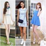 Thời trang - Khéo chọn váy xinh che eo bánh mì