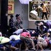 Sài Gòn: Náo loạn giật đồ cúng cô hồn