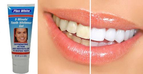 Tẩy trắng răng tại nhà với kem tẩy trắng Plus White - 3