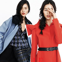 Ngắm áo khoác ấm cho mùa đông 2013