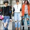 Thêm yêu chiếc quần jean rách!