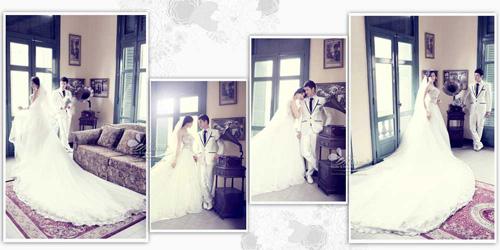 Lộ ảnh cưới tuyệt đẹp của vợ chồng Huy Khánh - Anh Thư - 1