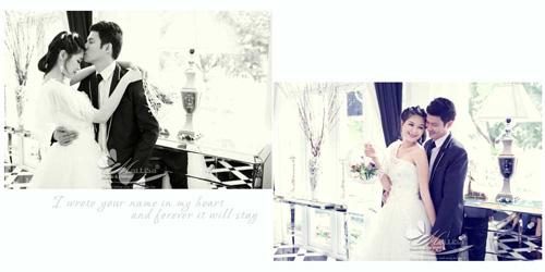 Lộ ảnh cưới tuyệt đẹp của vợ chồng Huy Khánh - Anh Thư - 2