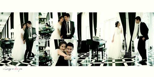 Lộ ảnh cưới tuyệt đẹp của vợ chồng Huy Khánh - Anh Thư - 3