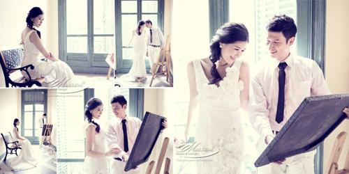 Lộ ảnh cưới tuyệt đẹp của vợ chồng Huy Khánh - Anh Thư - 7