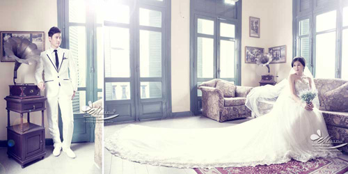 Lộ ảnh cưới tuyệt đẹp của vợ chồng Huy Khánh - Anh Thư - 6