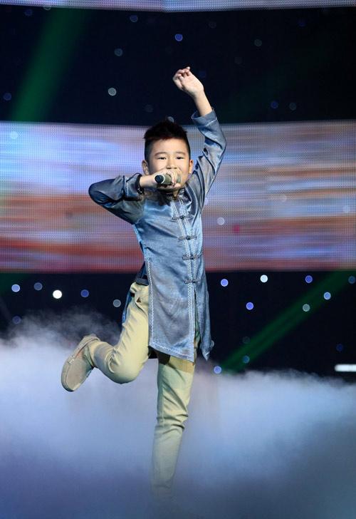 Bùng Nổ với Quang Anh The voice kids - 4