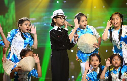 Bùng Nổ với Quang Anh The voice kids - 7