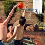 Thể thao - Phối hợp alley-oop chóng mặt
