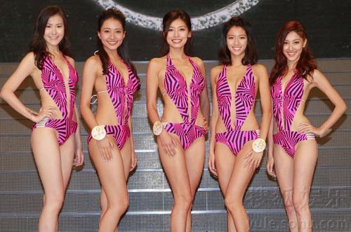 Áo tắm của hoa hậu Hong Kong quá hở hang - 7