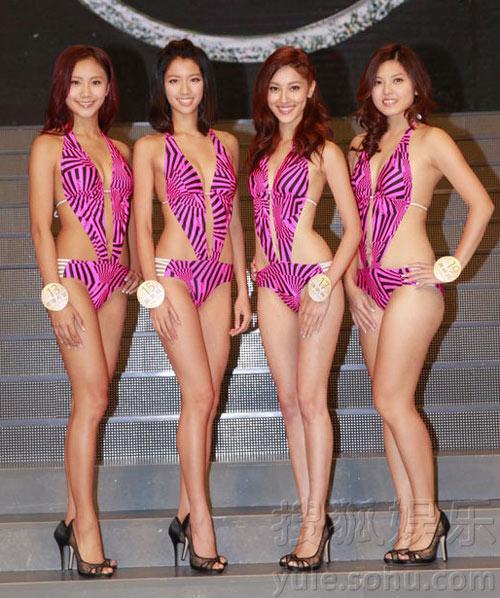 Áo tắm của hoa hậu Hong Kong quá hở hang - 6