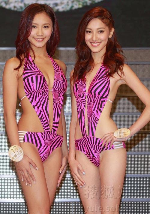 Áo tắm của hoa hậu Hong Kong quá hở hang - 5