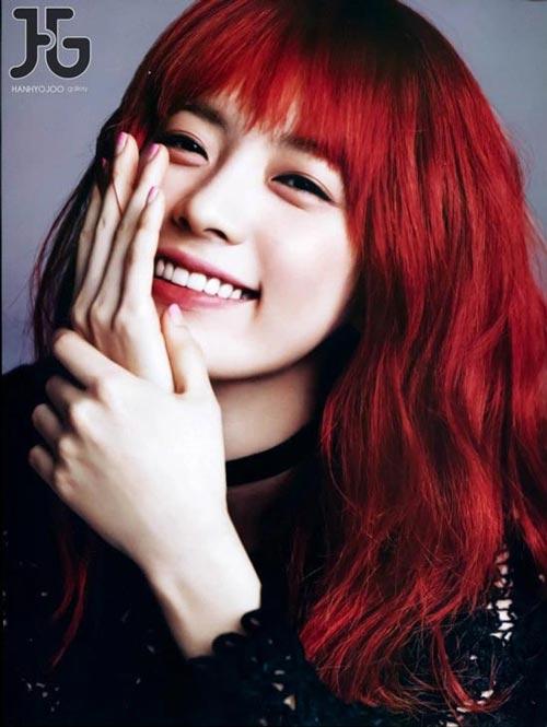 Mái tóc nhuộm đỏ có hợp với bạn? - 1
