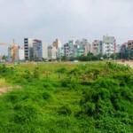 Chung cư-Nhà đất-Bất động sản - Khó xử lý đất vàng nội đô HN bỏ hoang