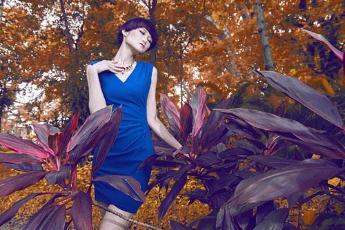 Gợi ý váy đẹp của chân dài Kha Mỹ Vân - 1