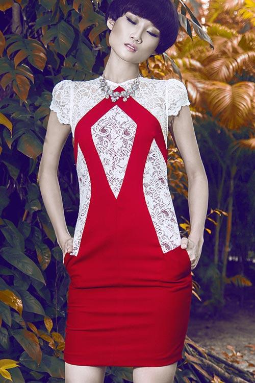 Gợi ý váy đẹp của chân dài Kha Mỹ Vân - 12