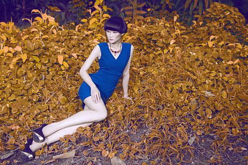 Gợi ý váy đẹp của chân dài Kha Mỹ Vân - 2