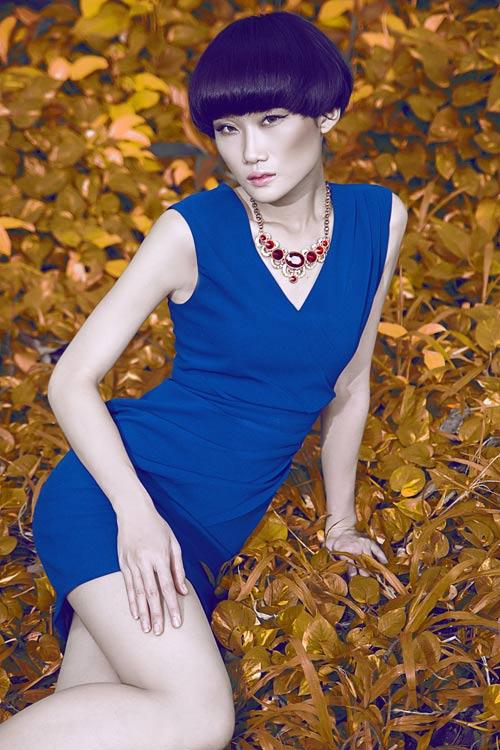Gợi ý váy đẹp của chân dài Kha Mỹ Vân - 3