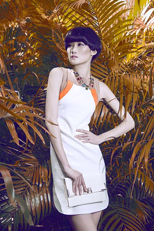 Gợi ý váy đẹp của chân dài Kha Mỹ Vân - 5