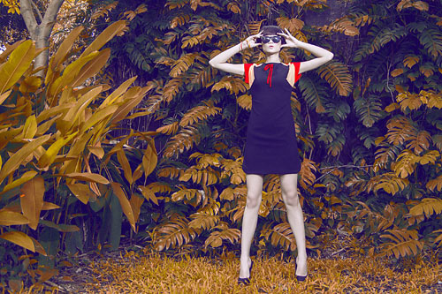 Gợi ý váy đẹp của chân dài Kha Mỹ Vân - 7