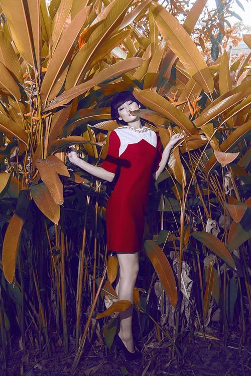 Gợi ý váy đẹp của chân dài Kha Mỹ Vân - 9