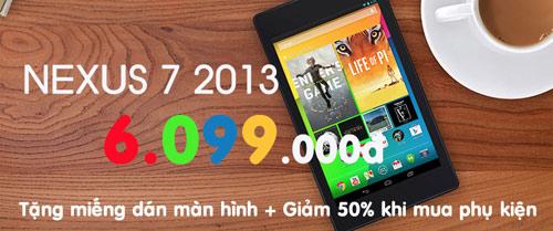 Khuyến mãi mỗi ngày – Sốc giá Nexus 7 2013 - 4