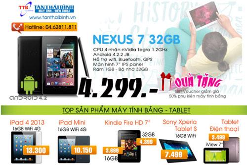 Khuyến mãi mỗi ngày – Sốc giá Nexus 7 2013 - 5