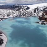 Du lịch - Thung lũng núi lửa tuyệt đẹp từ trên cao