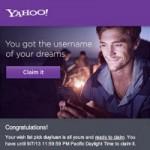 Công nghệ thông tin - Yahoo! thông báo kết quả những tài khoản được đăng ký lại