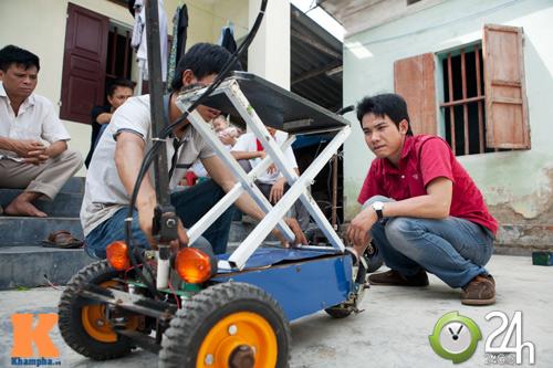 Chiếc xe điện siêu nhỏ chở được hai người - 3