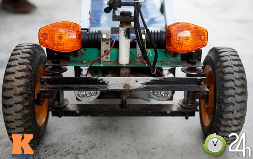 Chiếc xe điện siêu nhỏ chở được hai người - 8