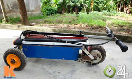 Chiếc xe điện siêu nhỏ chở được hai người - 9