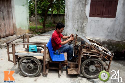 Chiếc xe điện siêu nhỏ chở được hai người - 11