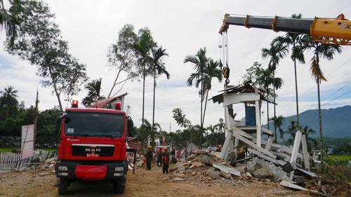 Diễn tập ứng phó với động đất tại Bắc Trà My - 11