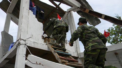 Diễn tập ứng phó với động đất tại Bắc Trà My - 8